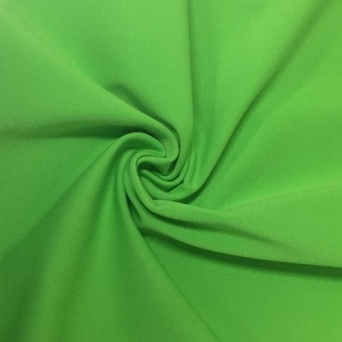 Green Flash Drifit Spandex, Green fabric, discount fabric