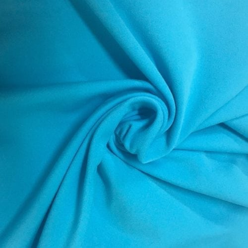 Bright Turquoise Jersey Moss Spandex, turquoise fabric, discount fabric