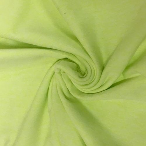 Key Lime Heather Jersey Moss spandex, lime spandex, discount fabric