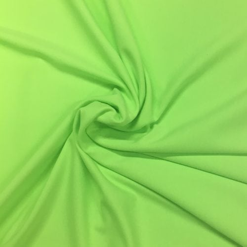 Paradise Green Tactel Spandex, neon fabric, discount fabric