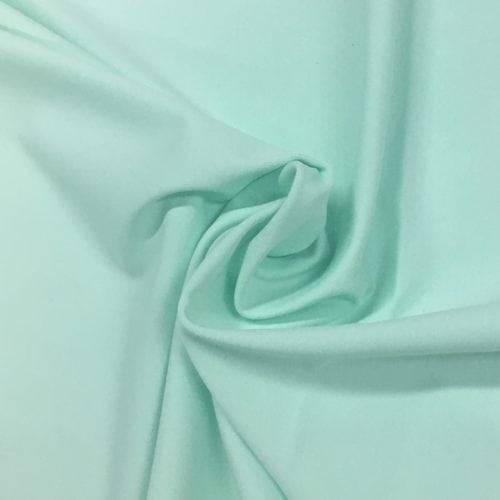 Honeydew Tactel Spandex, blue fabric, discount fabric