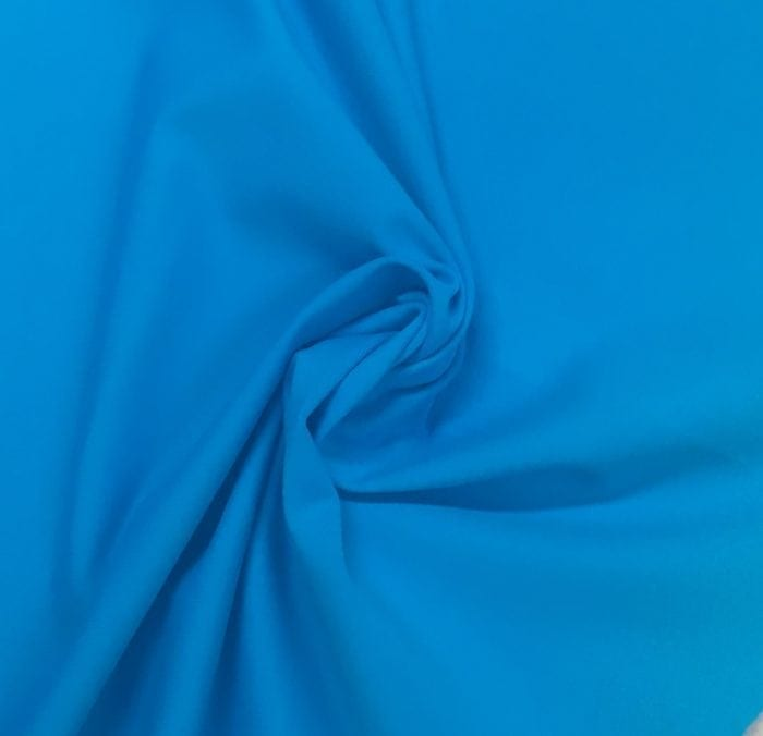 Atomic Blue Tactel Spandex, blue fabric, discount fabric