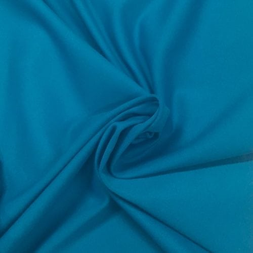 Enamel Blue Tactel Spandex, Blue fabric, discount fabric
