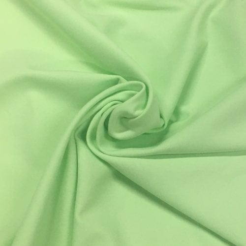 Spring Green Tactel Spandex, green fabric, discount fabric