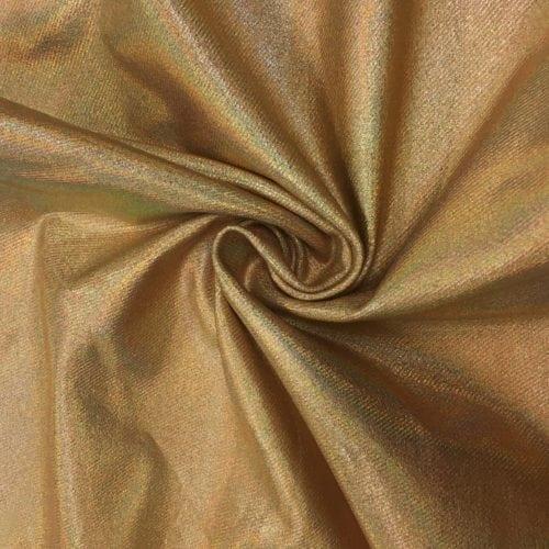 Denim Gold Holo Spandex, denim fabric, denim spandex