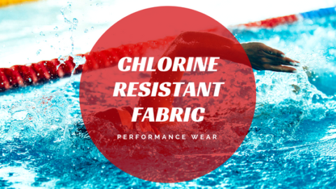 chlorine resistant fabric, swim fabric, swimwear fabric