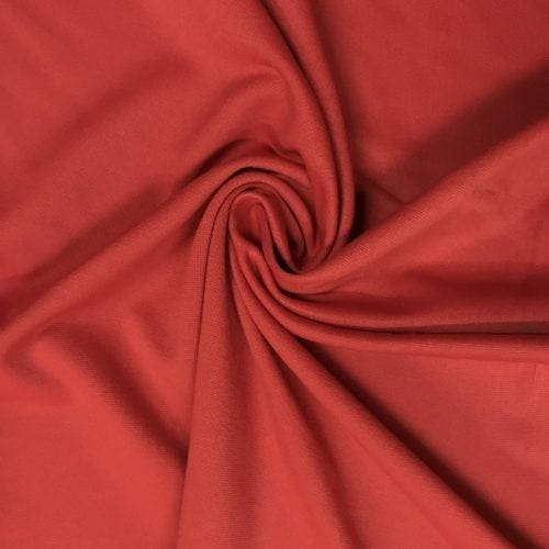 Poppy Spandex, Red fabric, discount fabric