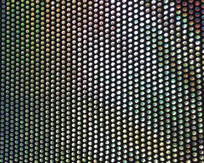 Luminescent Flash Hologram Spandex, dance fabric, rave fabric