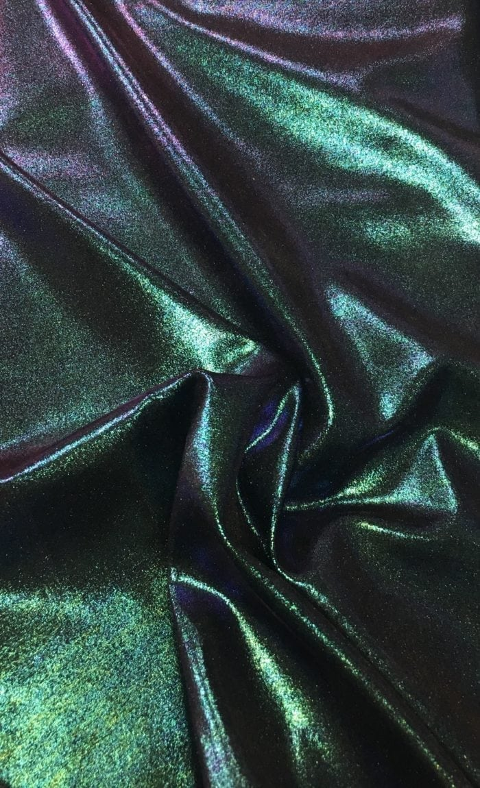 Fog Foil Tricot Spandex, shiny fabric, dance fabric, gymnastics fabric