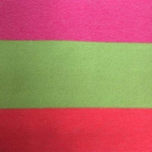 Pink Diva Stripe Spandex, stripe fabric, pink fabric