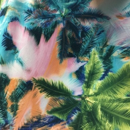 Mystic Palms Fabric, palm fabric, hawaiian fabric