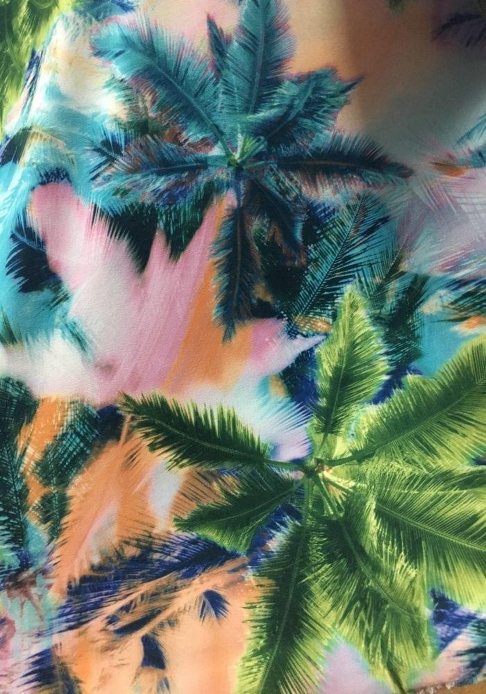 Mystic Palms Fabric, palm fabric, hawaiian fabric