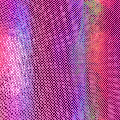 Pink Rainbow Spandex, pink fabric, holographic fabric