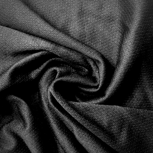 Black Diamond Textured Spandex, black fabric, textured fabric, texture fabric