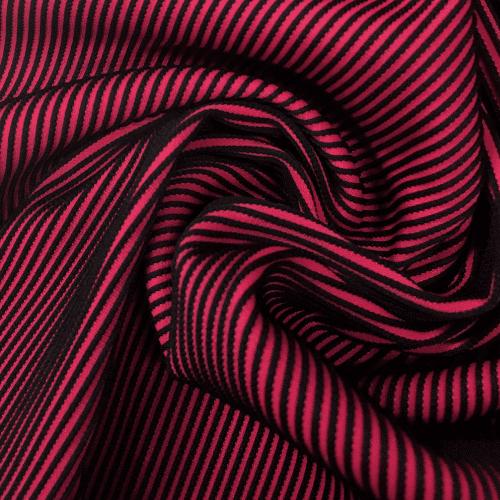 Cherry Textured Illusion Spandex, pink fabric, textured fabric, pink textured fabric