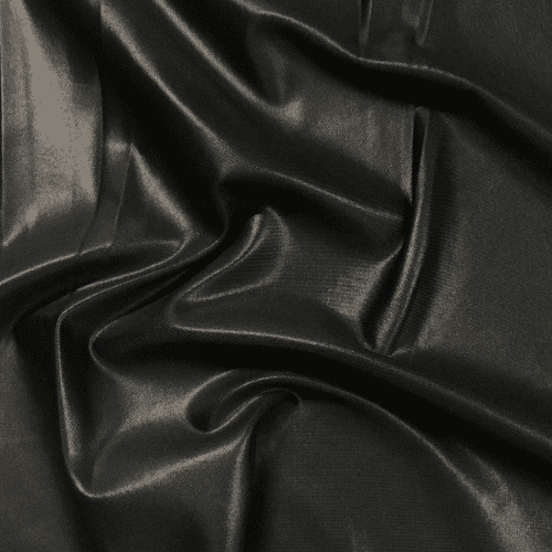 Black Cire Spandex, faux leather fabric, black fabric, black faux leather fabric