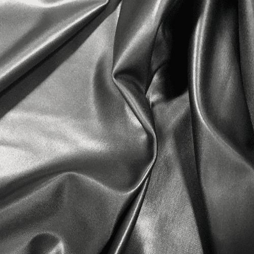 Grey Cire Spandex, grey fabric, faux leather fabric, grey faux leather fabric
