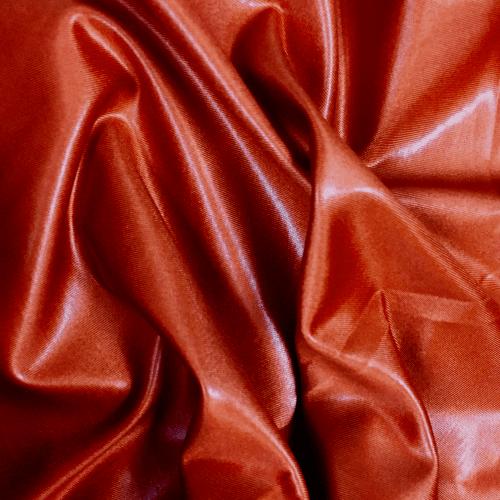 Topaz Cire Spandex, orange fabric, faux leather fabric, orange faux leather fabric