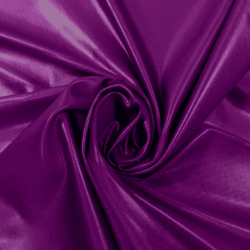 Violet Cire Spandex, purple fabric, faux leather fabric, purple faux leather fabric