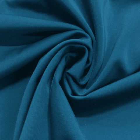 Cosmo Virtue Repreve® Recycled Polyester Spandex, blue fabric, repreve fabric, recycled fabric, eco-friendly fabric, blue swim fabric