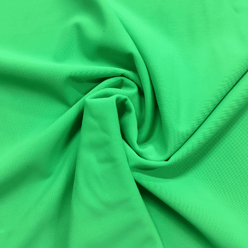 Grass Green Matte Tricot Spandex, green fabric, swim fabric, discount fabric