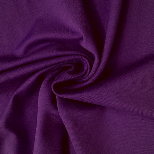 Imperial Purple Zen ATY Nylon Spandex, purple fabric, yoga fabric, athletic fabric