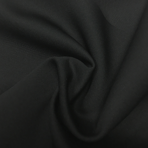 Black Warm Up Spandex, black fabric, warm up fabric, solid fabric