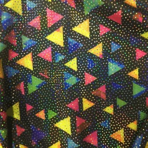 Triangle Sparkle Spandex