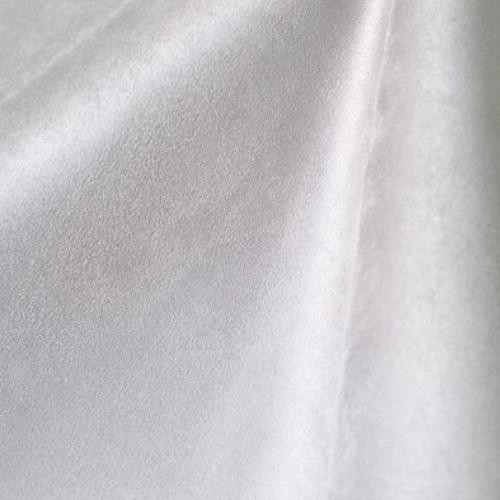 White Micro Suede Spandex, PFP White fabric, micro suede fabric, discount fabric