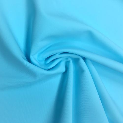 Azure Kira Matte Tricot Spandex, blue fabric, blue swim fabric, swim fabric, swimwear fabric, tricot fabric