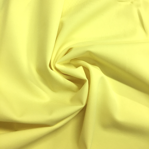 Lemonade Kira Matte Tricot Spandex, yellow fabric, yellow swim fabric, swim fabric, swimwear fabric, tricot fabric