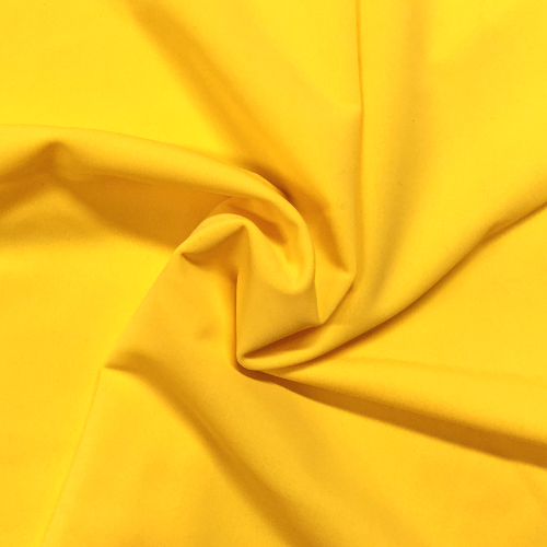 Golden Glow Kira Matte Tricot Spandex, yellow fabric, yellow swim fabric, swim fabric, swimwear fabric, tricot fabric
