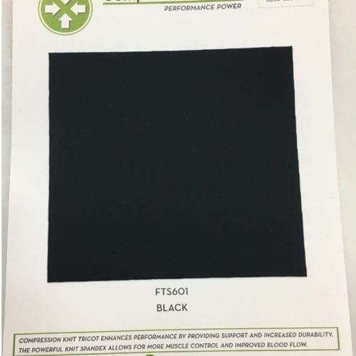Compression Tricot Card, black compression fabric, compression fabric, fabric for compression