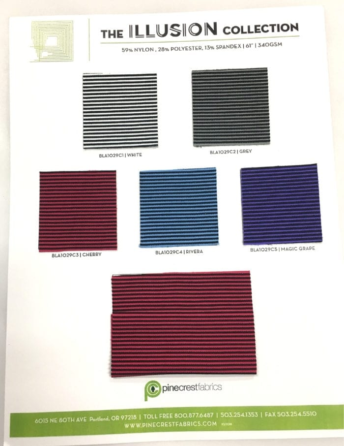 Textured Illusion Card, textured fabric, stripe fabric, texture fabric