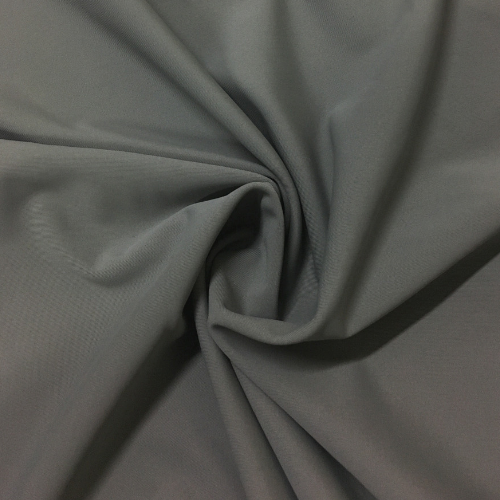 Grey Kira Matte Tricot Spandex, grey fabric, grey swim fabric, swim fabric, swimwear fabric, tricot fabric