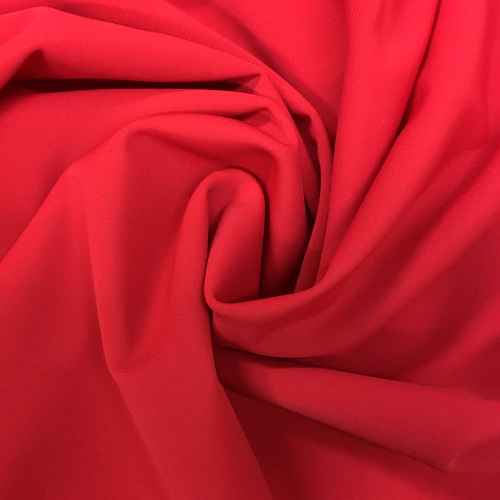 Red Kira Matte Tricot Spandex, red fabric, red swim fabric, swim fabric, swimwear fabric, tricot fabric