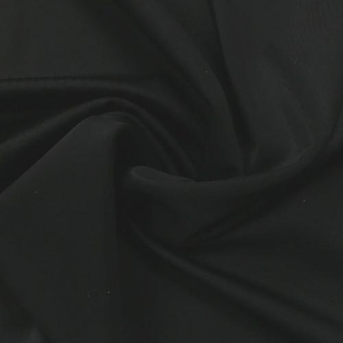 Black Kira Matte Tricot Spandex, black tricot fabric, black fabric, swim fabric, chlorine resistant fabric