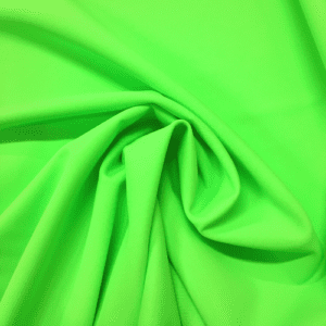 Acid Green Kira Matte Tricot Spandex, green fabric, green swim fabric, swim fabric, swimwear fabric, tricot fabric, neon fabric