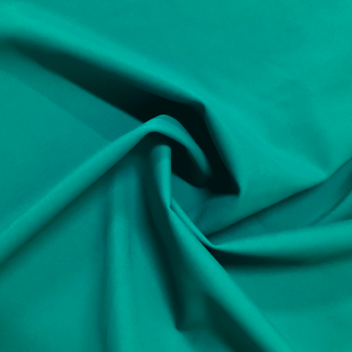 Peacock Kira Matte Tricot Spandex, teal fabric, green swim fabric, swim fabric, swimwear fabric, tricot fabric