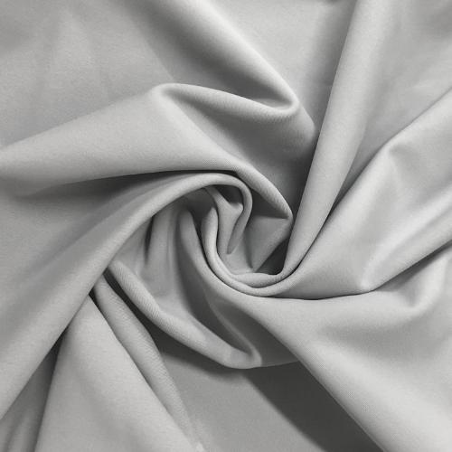 Silver Zen Kira Matte Tricot Spandex, grey fabric, grey swim fabric, swim fabric, swimwear fabric, tricot fabric