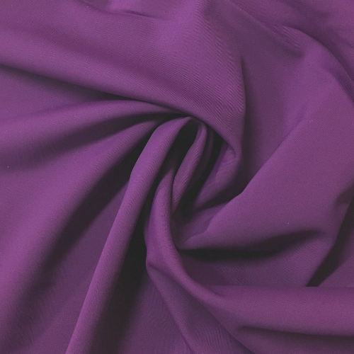 Grape Glow Kira Matte Tricot Spandex, purple fabric, purple swim fabric, swim fabric, swimwear fabric, tricot fabric