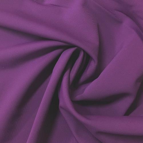 Grape Glow Kira Matte Tricot Spandex, purple fabric, purple swim fabric, swim fabric, swimwear fabric, tricot fabric