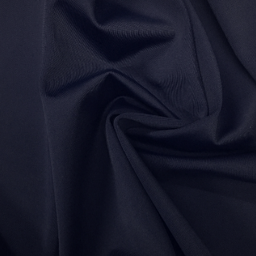New Navy Kira Matte Tricot Spandex, blue fabric, blue swim fabric, swim fabric, swimwear fabric, tricot fabric