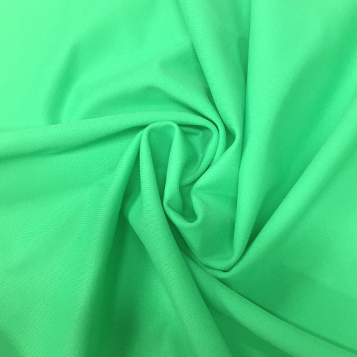 Young Leaf Kira Matte Tricot Spandex, green fabric, green swim fabric, swim fabric, swimwear fabric, tricot fabric