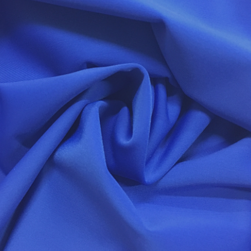 Sapphire Kira Matte Tricot Spandex, blue fabric, blue swim fabric, swim fabric, swimwear fabric, tricot fabric