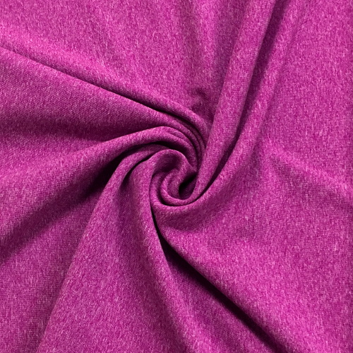 Magenta Heathered Dharma Spandex, pink fabric, purple fabric, heathered fabric, heathered spandex, yoga fabric, activewear fabric