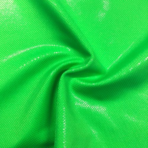 green fabric, neon fabric, neon green fabric, foil fabric, dance fabric, rave fabric