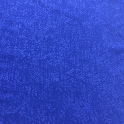 Blue Peached Embossed Jersey Spandex, embossed fabric, jersey fabric