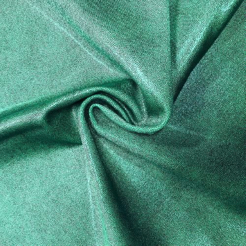 Green Dark Jewels Spandex, dance fabric, green fabric, foil fabric, rave fabric, gymnastics fabric