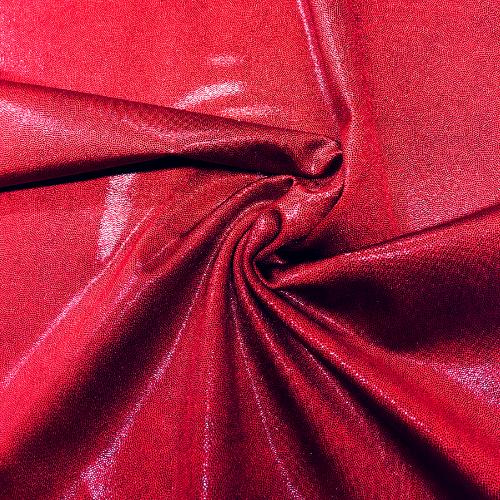 Red Dark Jewels Spandex, vampire fabric, dance fabric, red fabric, foil fabric, rave fabric, gymnastics fabric